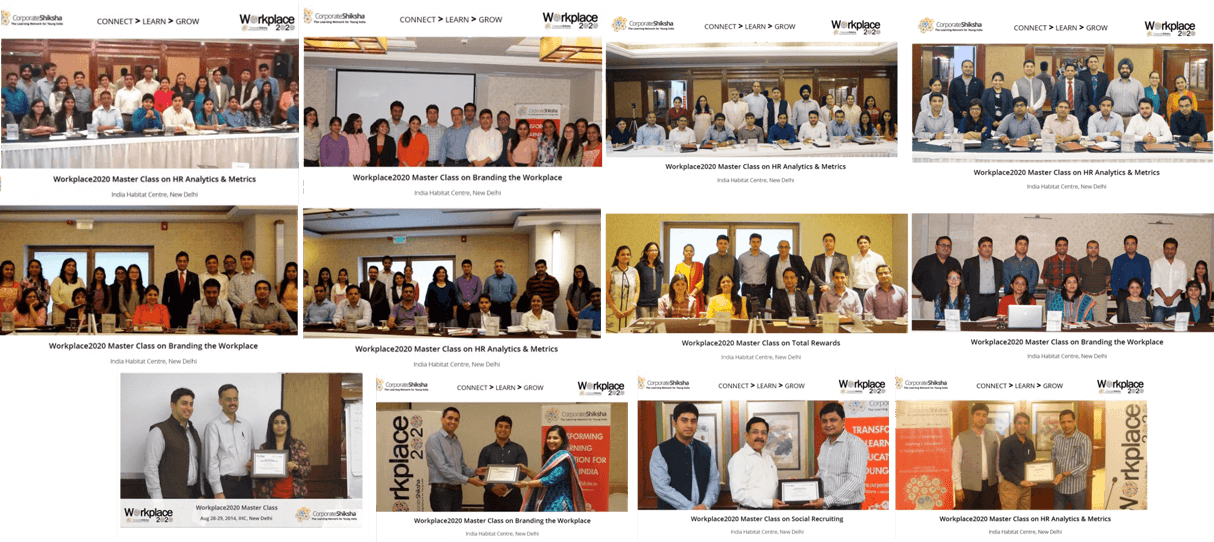Glimpses from CS Master Class